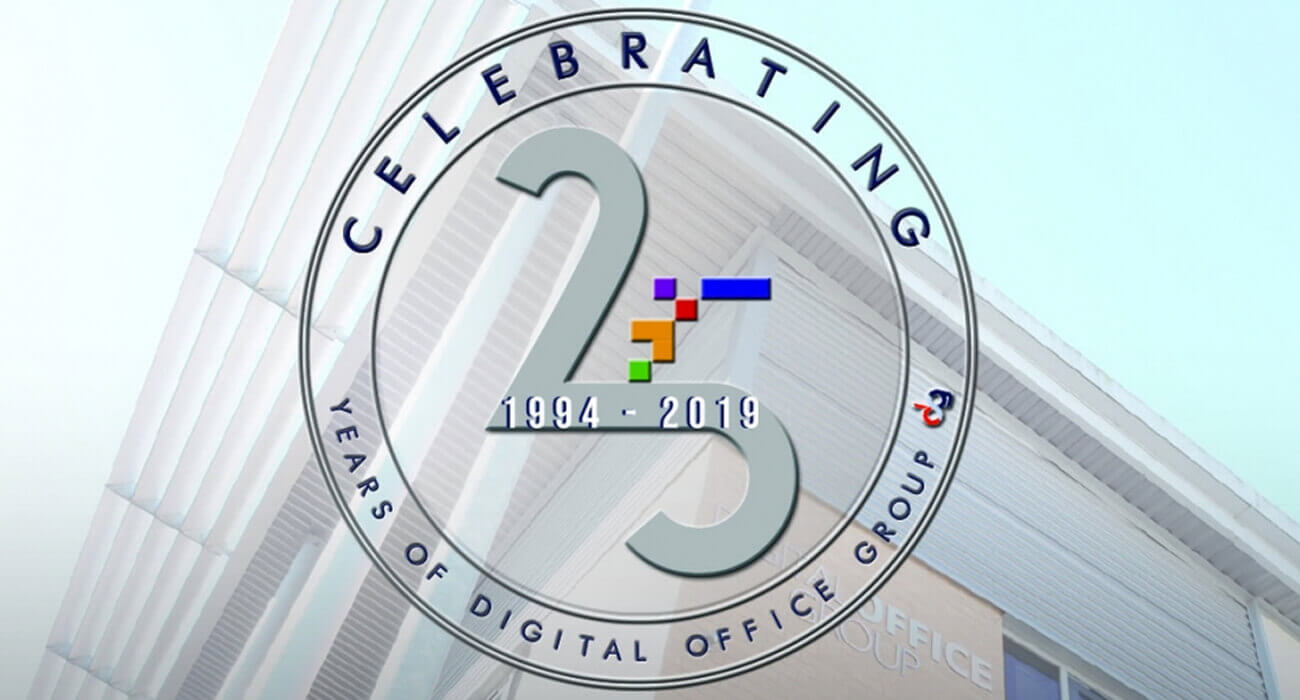 Digital Office Systems Ltd to celebrate 25 years