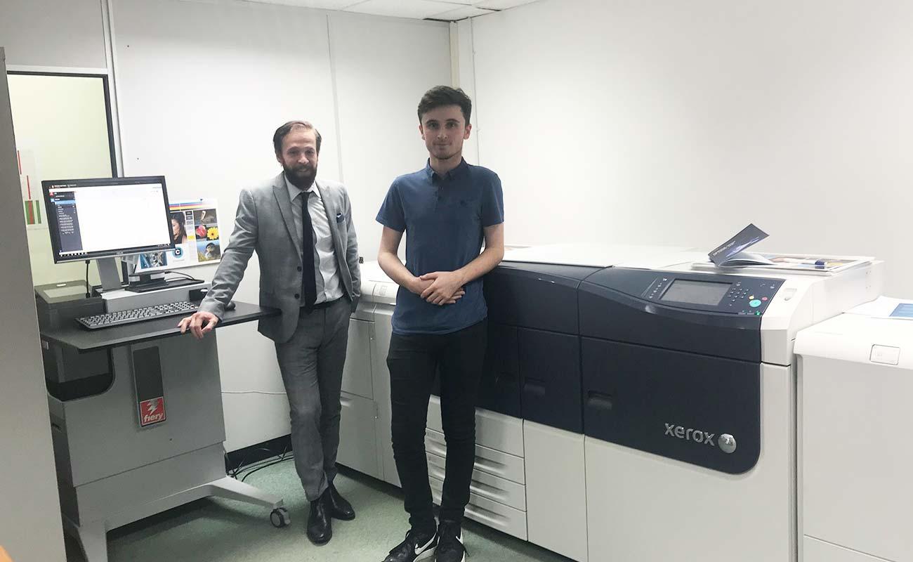 Chartwell Press acquire new Xerox Versant 3100