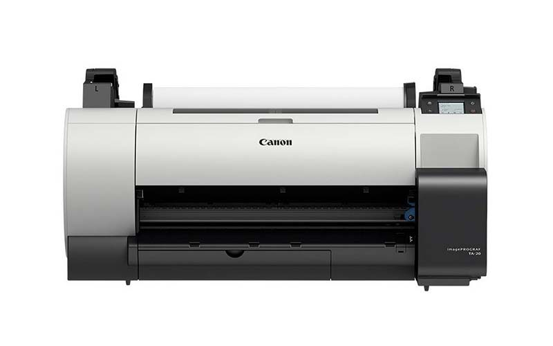 Canon TA-20 wide format printer