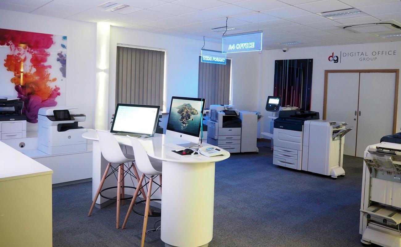 Digital Office Showroom