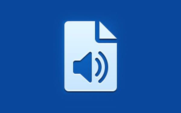 Audio documents app icon
