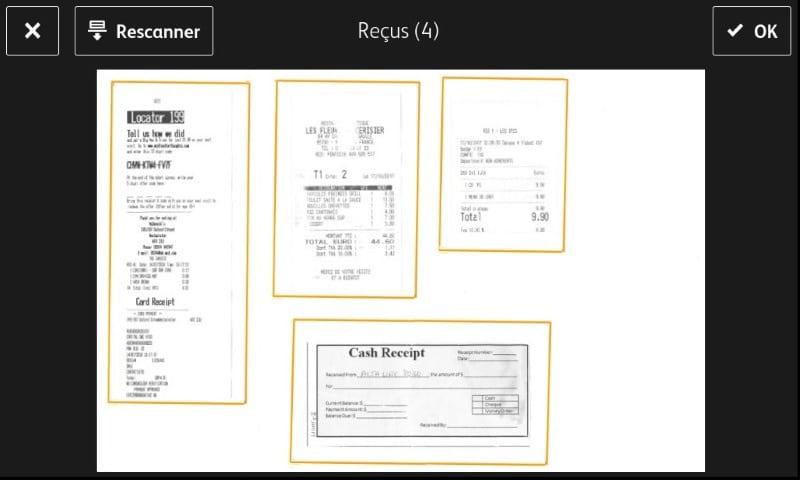 Concur preview receipts