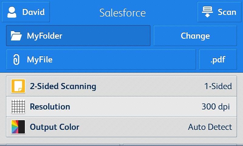 Salesforce app screenshot