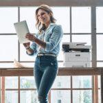 Xerox® B235 Multifunction Printer woman office